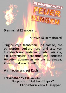Chorvereinigung Email DIN A5 (Feuersingen) Back